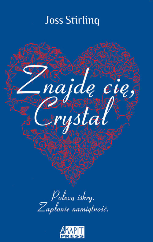 okładka Znajdę cię, Crystal, Książka | Stirlling Joss