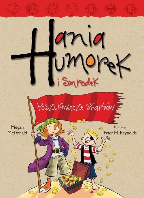 okładka Hania Humorek i Smrodek Poszukiwacze skarbówksiążka      McDonald Megan