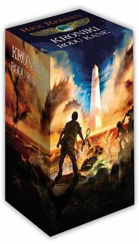 okładka Kroniki rodu Kane Tom 1-3 Pakiet, Książka | Riordan Rick