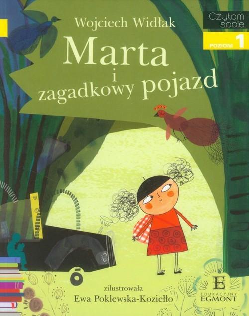 okładka Marta i zagadkowy pojazd poziom 1, Książka | Widłak Wojciech