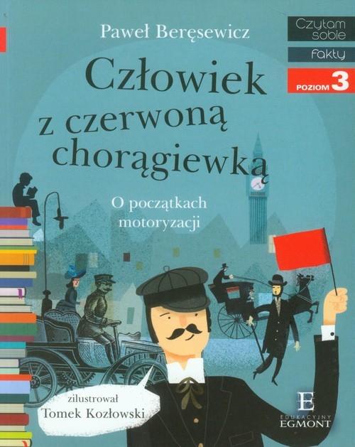 okładka Człowiek z czerwoną chorągiewką poziom 3, Książka | Paweł Beręsewicz