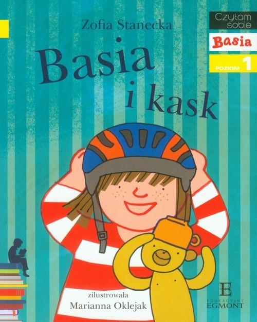 okładka Basia i kask poziom 1, Książka | Zofia Stanecka