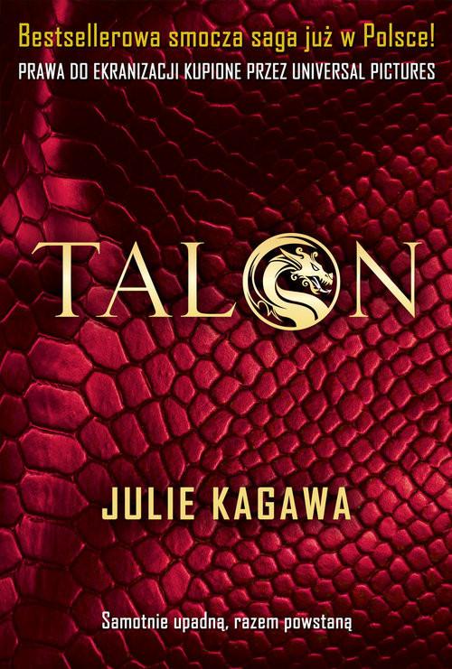 okładka Talonksiążka      Julie Kagawa