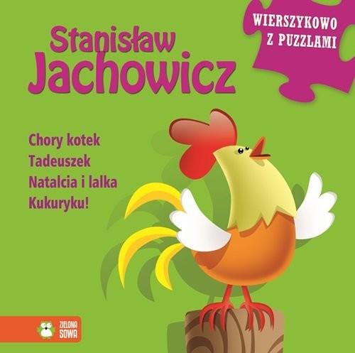 okładka Stanisław Jachowicz Wierszykowo z puzzlami, Książka | Jachowicz Stanisław
