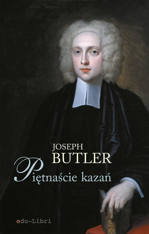 okładka Piętnaście kazań, Książka | Joseph Butler