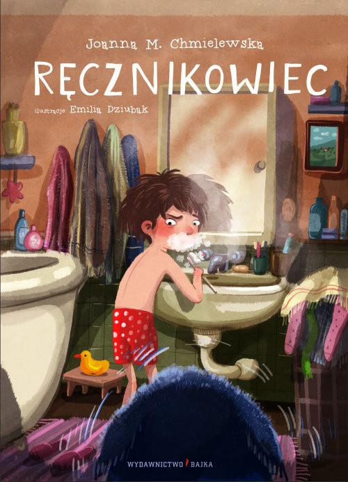 okładka Ręcznikowiec, Książka | Joanna M. Chmielewska