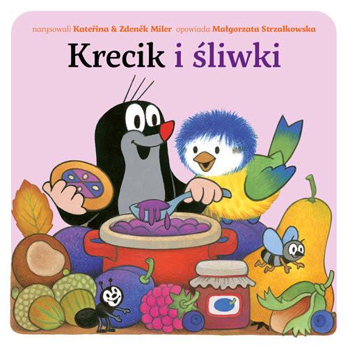 okładka Krecik i śliwki, Książka | Małgorzata Strzałkowska