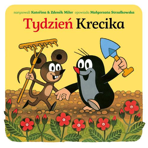 okładka Tydzień Krecika, Książka | Małgorzata Strzałkowska