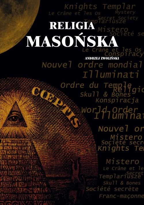 okładka Religia masońska, Książka | Andrzej Zwoliński
