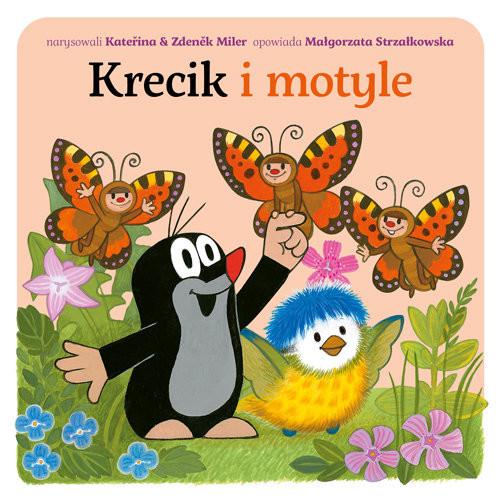 okładka Krecik i motyle, Książka | Małgorzata Strzałkowska