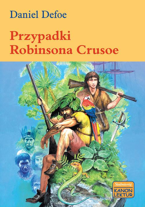 okładka Przypadki Robinsona Crusoe, Książka   Daniel Defoe