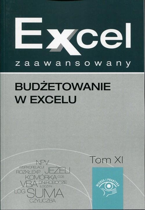okładka Excel zaawansowany Tom 11 Budżetowanie w excelu, Książka   Malina  Cierzniewska-Skweres, Jakub  Kudliński