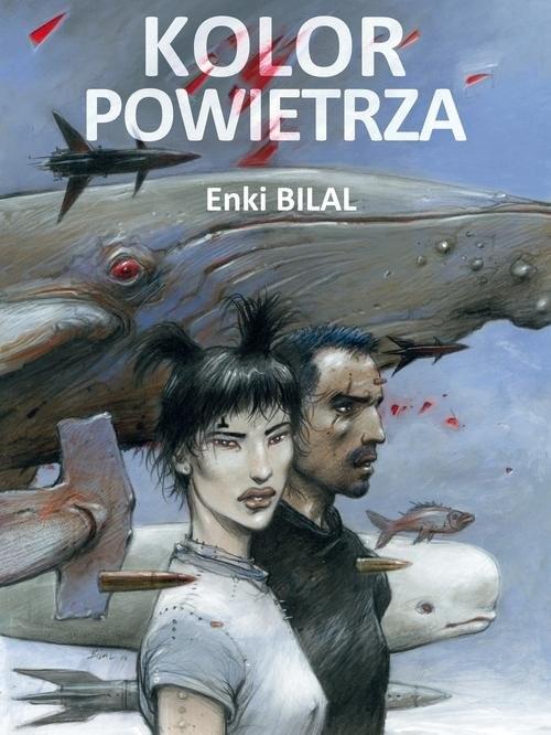 okładka Kolor powietrza, Książka | Bilal Enki