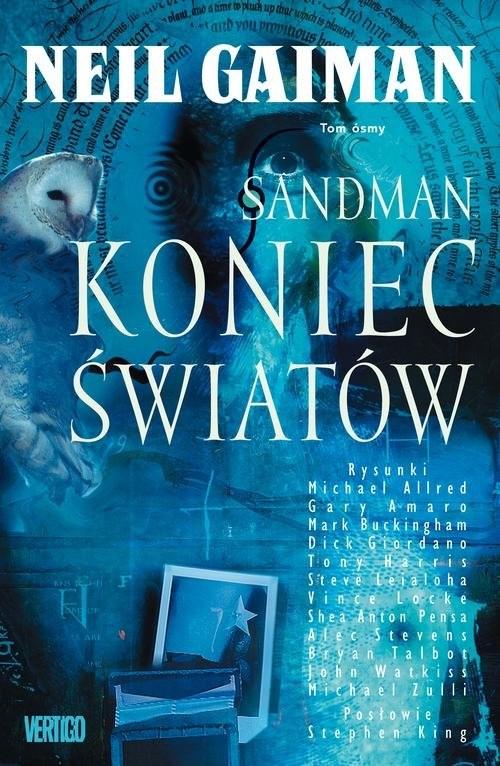 okładka Sandman Tom 8 Koniec światów, Książka | Gaiman Neil