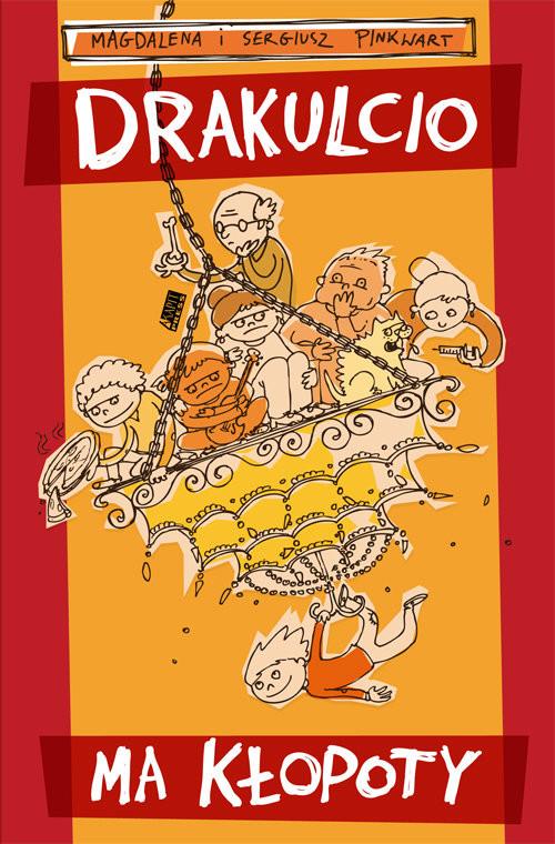 okładka Drakulcio ma kłopoty, Książka | Sergiusz Pinkwart, Magdalena Pinkwart