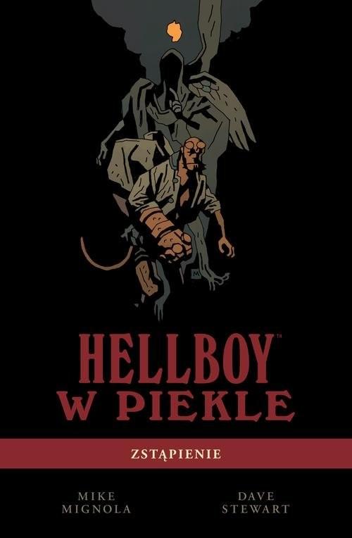 okładka Hellboy w piekle Tom 1 Zstąpienie, Książka | Mike Mignola