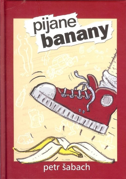 okładka Pijane banany, Książka | Šabach Petr