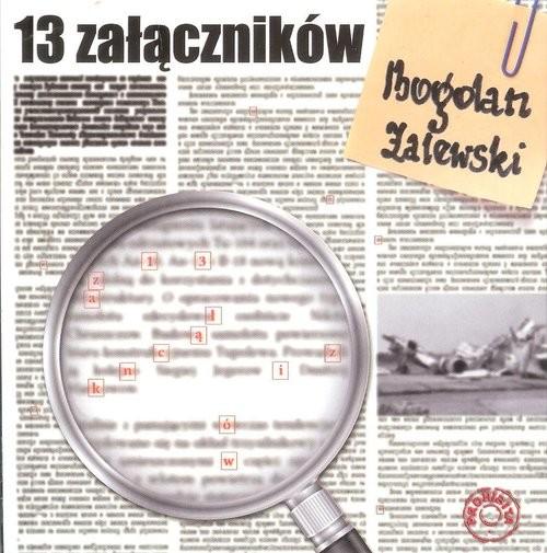 okładka 13 załączników, Książka | Zalewski Bogdan