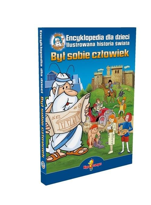 okładka Był sobie człowiek Encyklopedia dla dzieci + DVD, Książka | Waldemar Feliks Janusz