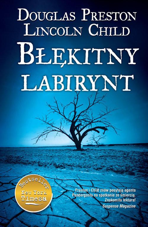 okładka Błękitny labirynt, Książka | Douglas Preston, Lincoln Child