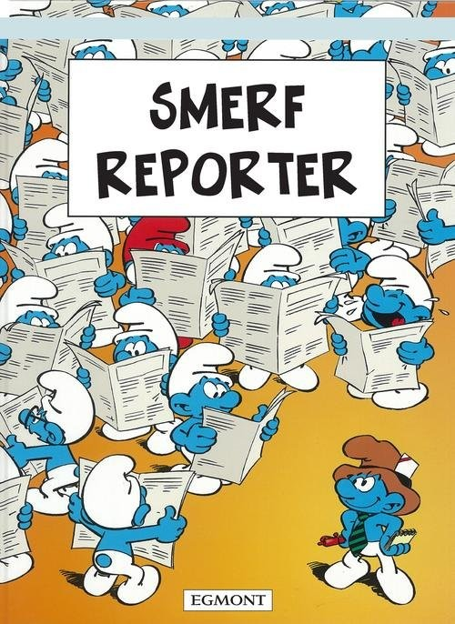 okładka Smerf Reporter, Książka | Luc Parthoens