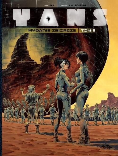 okładka Yans Wydanie zbiorcze Tom 3, Książka | Duchateau Andre