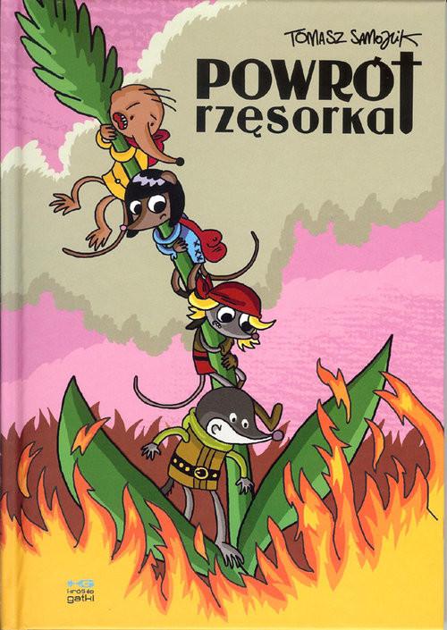 okładka Powrót rzęsorka, Książka | Samojlik Tomasz