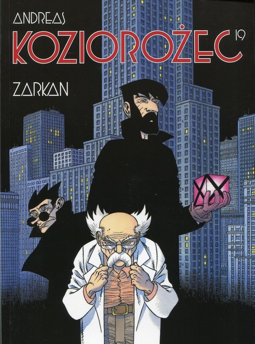 okładka Koziorożec 19 Zarkan, Książka   Andreas