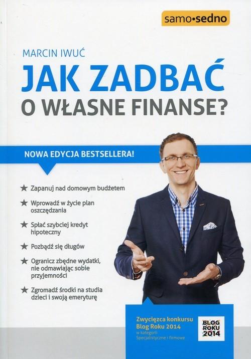 okładka Jak zadbać o własne finanse?, Książka | Iwuć Marcin