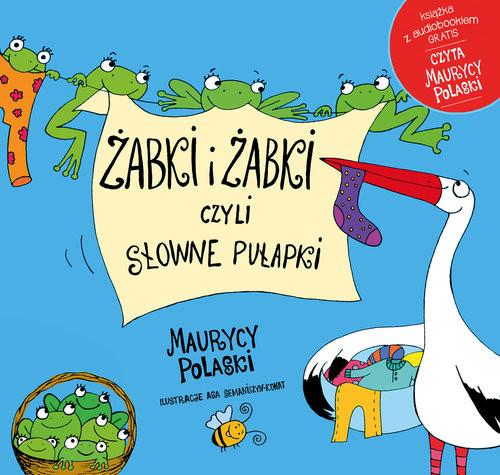 okładka Żabki i żabki czyli słowne pułapki, Książka | Polaski Maurycy
