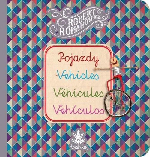 okładka Pojazdy, Vehicles, Véhicules, Vehiculos, Książka  