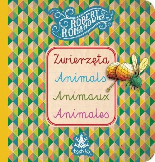 okładka Zwierzęta, Animals, Animaux, Animales, Książka   Romanowicz Robert