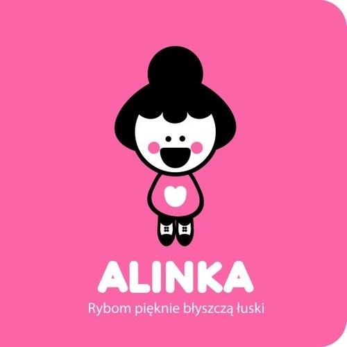 okładka Alinka Rybom pięknie błyszczą łuski, Książka   Riukimiuki Ingakku