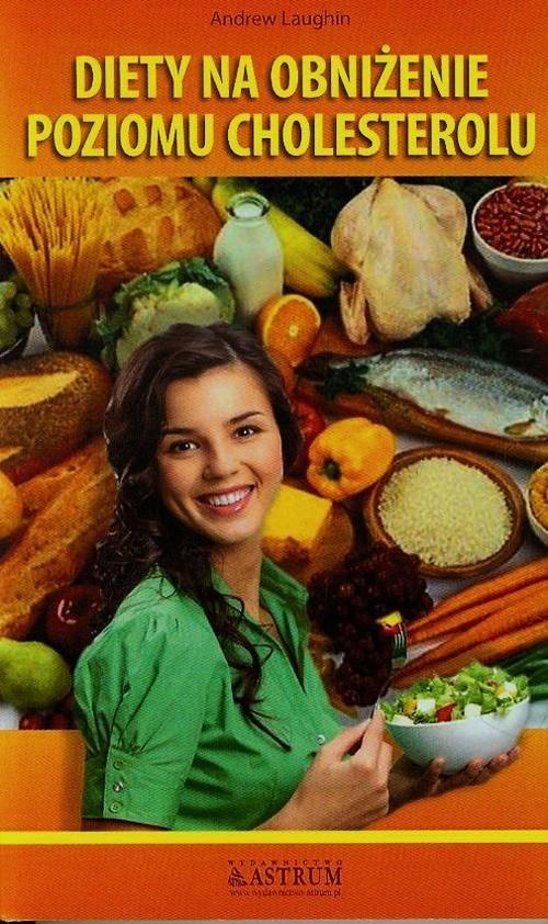 okładka Diety na obniżenie cholesterolu, Książka | Laughin Andrew
