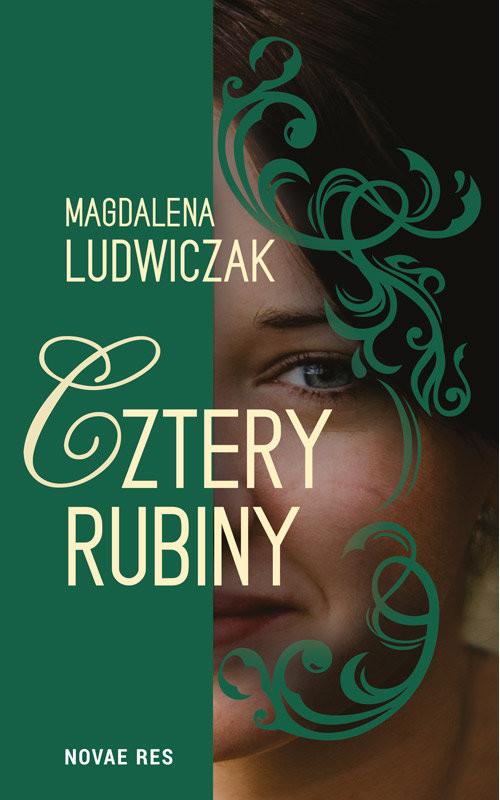 okładka Cztery rubiny, Książka | Magdalena Ludwiczak