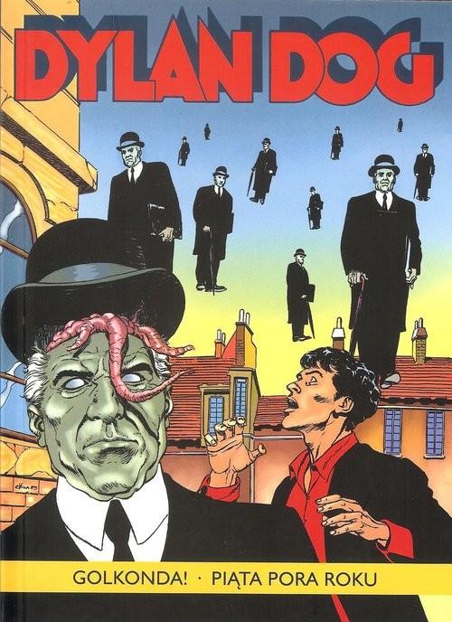 okładka Dylan Dog Golkonda! Piąta pora roku, Książka   Tiziano Sclavi, Luigi Piccatto