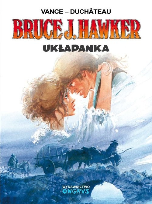 okładka Bruce J. Hawker - Układanka, Książka | Duchateau Vance, praca zbiorowa