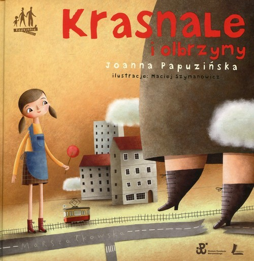 okładka Krasnale i olbrzymy, Książka | Papuzińska Joanna