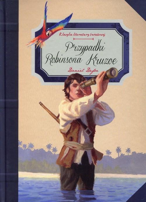 okładka Przypadki Robinsona Kruzoe, Książka   Daniel Defoe