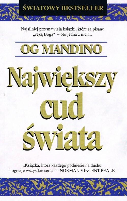 okładka Największy cud świata, Książka | Mandino Og