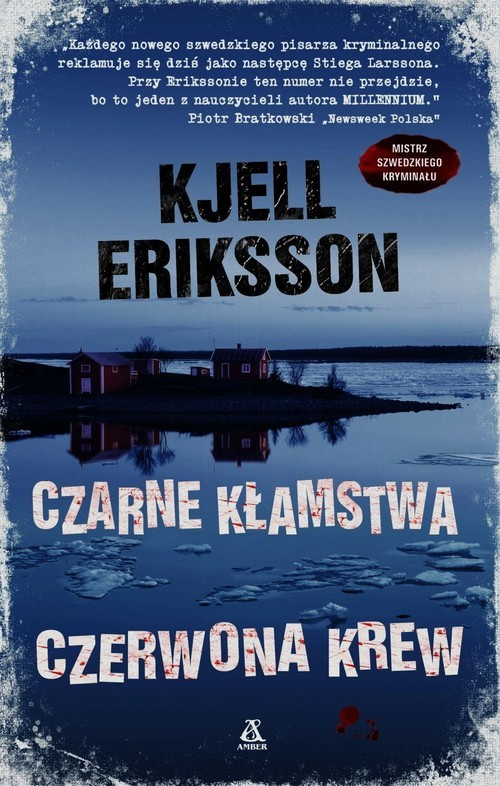 okładka Czarne kłamstwa czerwona krew, Książka | Eriksson Kjell