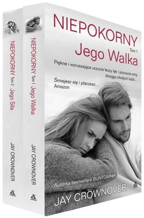 okładka Niepokorny Tom 1-2 Pakiet, Książka | Crownover Jay