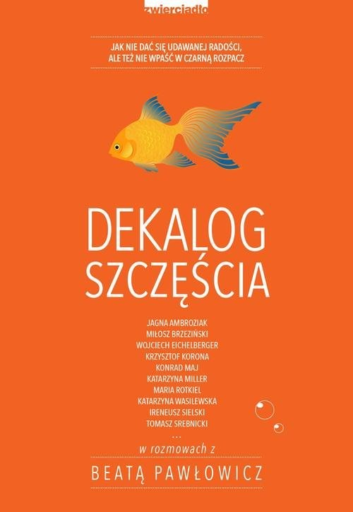 okładka Dekalog szczęścia, Książka | Beata Pawłowicz