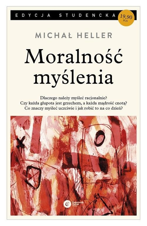 okładka Moralność myślenia, Książka | Heller Michał