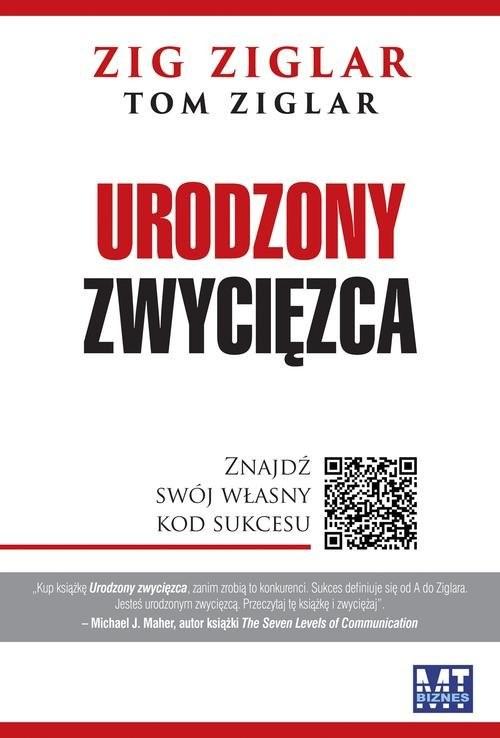 okładka Urodzony zwycięzca Znajdź swój własny kod sukcesu, Książka | Zig  Ziglar, Tom Ziglar