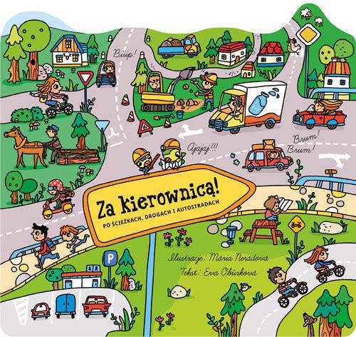 okładka Za kierownicą, Książka | Obůrkova Eva