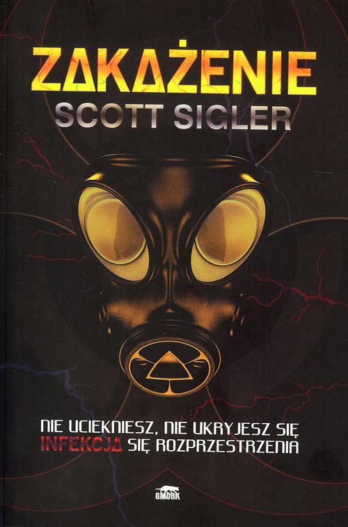 okładka Zakażenie, Książka | Sigler Scott