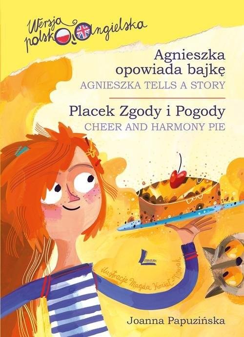 okładka Agnieszka opowiada bajkę, Książka | Papuzińska Joanna