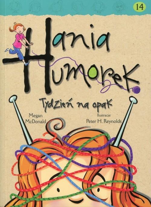 okładka Hania Humorek 14 Tydzień na opak, Książka | McDonald Megan