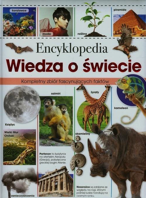 okładka Encyklopedia Wiedza o świecie, Książka   Praca Zbiorowa